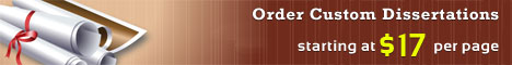 Order custom dissertation on Law