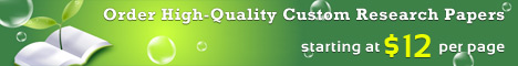 Order custom research proposal on Service Quality