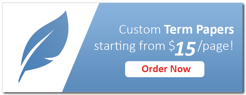 Get Custom Term Paper on Any Topic